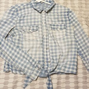 Country Western button down shirt